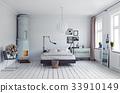 modern bedroom 33910149