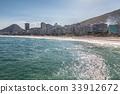Copacabana beach in Rio de Janeiro 33912672