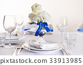 Wedding table decorated 33913985