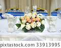 Wedding table decorated 33913995