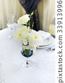 Wedding table decorated 33913996