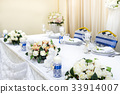 Wedding table decorated 33914007