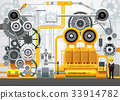 Industrial machinery factory engineering 33914782