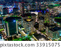 요코하마 시, 야경, 도시 33915075