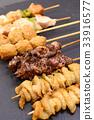 닭꼬치, 닭 구이, 닭 꼬치 구이 33916577