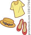 패션 소품 일러스트 (셔츠 · 모자 · 신발) 33917764