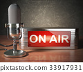 microphone, broadcast, air 33917931