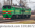 diesel, green, locomotive 33918672