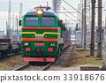 diesel, green, locomotive 33918676