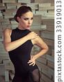 Elegant latin women dancer 33919013