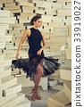 Elegant latin women dancer 33919027