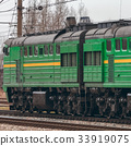 diesel, locomotive, rail 33919075