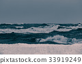 Storm at the sea 33919249