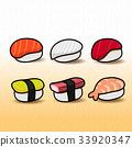 sushi, japanese, food 33920347