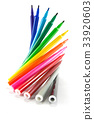 Rainbow Color Markers 33920603