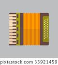 Accordion Icon Oktoberfest Festival Concept 33921459