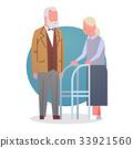 Senior Man And Woman Couple Grandmother And 33921560
