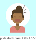 African American Female Screaming Emotion Profile 33921772