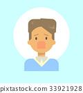 Male Screaming Emotion Profile Icon, Man Cartoon 33921928