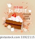 Fresh Dessert Banner Colorful Cake Sweet Beautiful 33922115