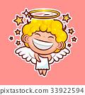 vector, icon, emoji 33922594