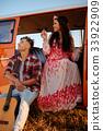 旅行 吉他 夫妇 33922909