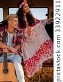旅行 吉他 夫妇 33922911