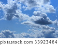Blue sky and clouds 33923464