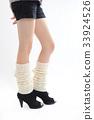 Pretty woman legs leg warmer 33924526