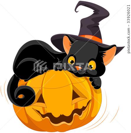 Halloween Kitten 33926021