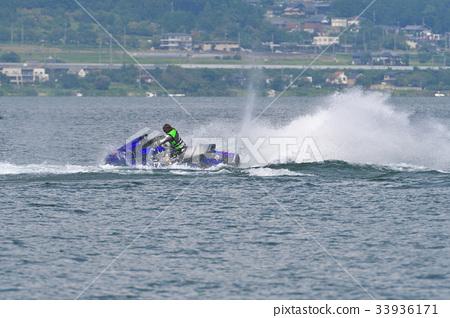 Jet ski of Lake Biwa 33936171