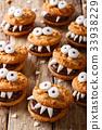 万圣节 饼干 食物 33938229
