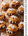 万圣节 饼干 食物 33938230