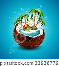 summer palm tree 33938779