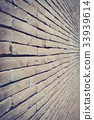Old brick wall texture in a background image 33939614