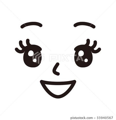 Face woman smile 33940567