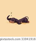 Vector stock illustration emoji of cartoon 33941916
