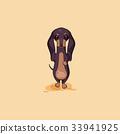 Vector stock illustration emoji of cartoon 33941925