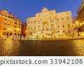 Fountain di Trevi in Rome, Italy 33942106