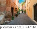 street in Trastevere, Rome, Italy 33942161