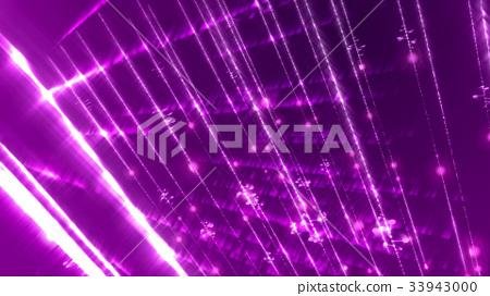 Light glittering sci-fi cyberspace shot diagonally 33943000