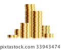 stack gold coin 33943474
