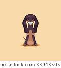 Vector stock illustration emoji of cartoon 33943505