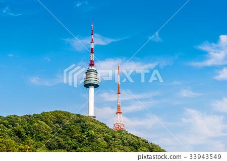 Korea,Namsan Tower in Seoul,South Korea 33943549