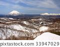 잔설, 요 테이 산, 초봄 33947029