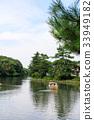 녹색, 마을, 수면 33949182
