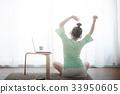 Young Asian woman using laptop computer 33950605