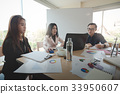 Business workers group meeting in office 33950607