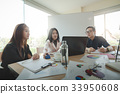 Business workers group meeting in office 33950608