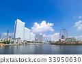 横滨港未来城市景观 33950630